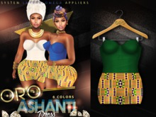 ORO Ashanti Dress - Emerald Green