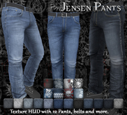 [Syn] Jensen Pants (Texture HUD, Fitted mesh, materials enabled)