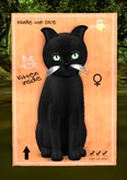 KittyCatS Box - 8T Russian - Black - Vampire - Apple