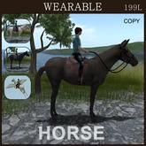 [TomatoPark] Wearable Horses