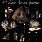 .:M.LAW:. Xmas gacha double street lamp