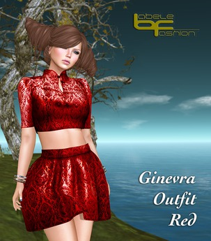 Babele Fashion :: Ginevra Outfit Red