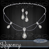 ::: Krystal ::: Regency - Jewelry Set - Platinum