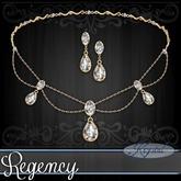 ::: Krystal ::: Regency - Jewelry Set - Gold