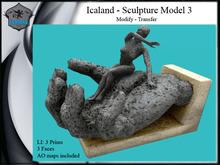 Icaland - Sculpture Model 3