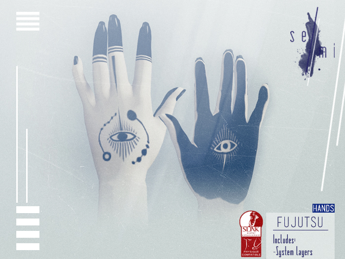 se//mi / Fujutsu - Hands (Black)
