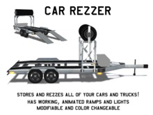 *$199 SALE!*  Vehicle Rezzer / Race Trailer / Car Hauler V1.0