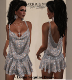 """""""BeatriceStyle"""" - Loose Sequins Dress"""