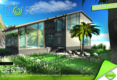 inVerse® MESH -  DESTIN full furnished modern  house