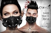 Corvus : Dark Toxic Mask Unisex