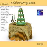 Celebrate Spring Green ( crate)