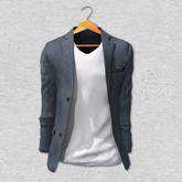 BlankLine Blazer and tee-shirts (fitted) [Denim]