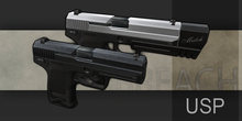 *BREACH* USP [Dual wield with holsters, stunt anims, CCS, DCS2]
