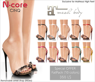 "N-core CINQ ""FatPack"" Special OFFER (for Maitreya High Feet)"