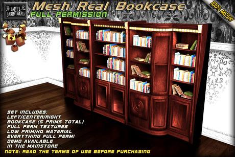 [D.G.]Mesh Bookcase -FULL PERM-