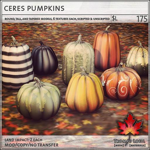 Trompe Loeil - Ceres Pumpkin Pack [mesh]