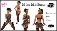 ::Foxy Fashions:: Miss Mafiosa *CLEARANCE*