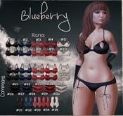 18. Blueberry / Common / Flirt - Bra (Polka) - Candy (Boxed)(B)