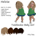 Toddleedoo Hair Heloise Blond