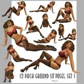 Amacci ~ 12 Ground sit Poses, Set 1