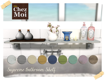 Supreme Bathroom Shelf ♥ CHEZ MOI