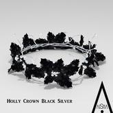 .AiShA. Holly Crown Black Silver
