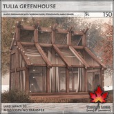 Trompe Loeil - Tulia Greenhouse [mesh]