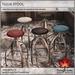 Trompe Loeil - Tulia Stool [mesh]
