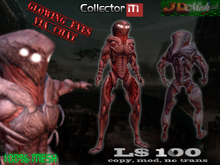[Collector] Full mesh avatar w/glowing eyes via chat