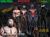 [Arachnid collection N2] 4 Full mesh suits