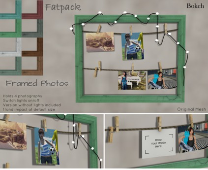 Framed Photos FatPack (mesh) - Bokeh