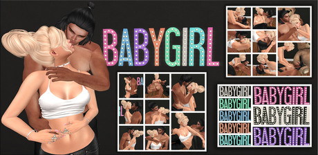 {ACD} Perfectly Innocent Baby Girl Marquee PG
