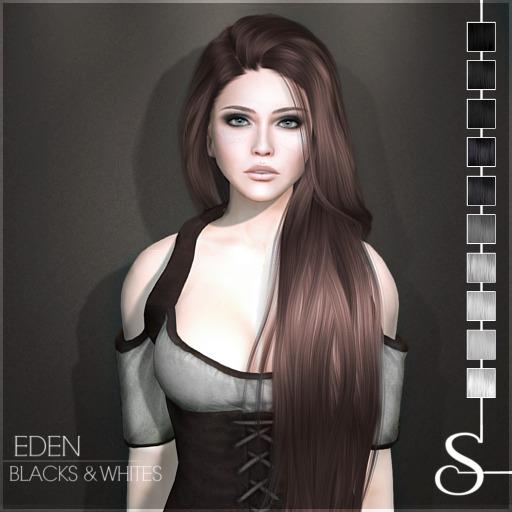 Stealthic - Eden (Hair) Blacks & Whites