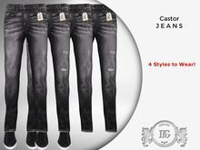 Daniel Grant - Castor Jeans Black (4 Styles)