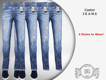 Daniel Grant - Castor Jeans Blue (4 Styles)
