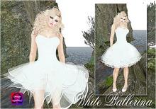 ~*~Shar's Dresses~*~White Ballerina
