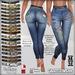 Bootylicious high waist jeans ad
