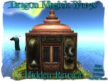 Dragon Magick Wares Hidden Retreat Temple UPDATED MESH