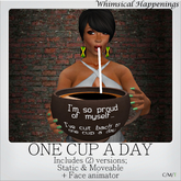 [Pose/Prop] - One Cup A Day