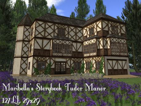Maribella's Storybook Tudor Manor(127LI, 29x29)