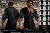 fR* NRM003 leather shirt mesh , mesh body, niramith,  Aesthetic for mesh body Enzo