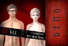 [Uw.st -7R-]  Giz-hair  demo pack