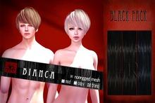 [Uw.st -7R-]  Bianca-hair  Black pack