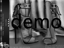Bens Boutique - Feline High Heels (Slink High) - Demo