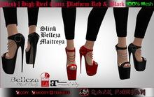 [Mesh] Shoes Chain Heels Alissa Maitreya / Slink / Belleza
