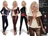 GAALL Desperado Outfit (Maitreya, Belleza Venus, eBody & Slink) + Shoes (Mix & Match HUD)