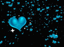 blue sad Hearts (Fee Gift) \\ by Color Alchemists