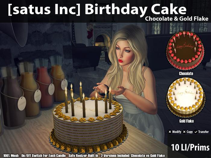 [satus Inc] Birthday Cake