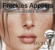 DS'ELLES-(BOX)(WEAR- FRECKLE appliers  for Head Catwa