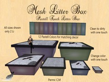 GKC - Mesh Litter Box Square